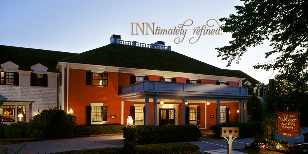 The Dan'l Webster Inn & Spa in Sandwich - intimately refined lodging