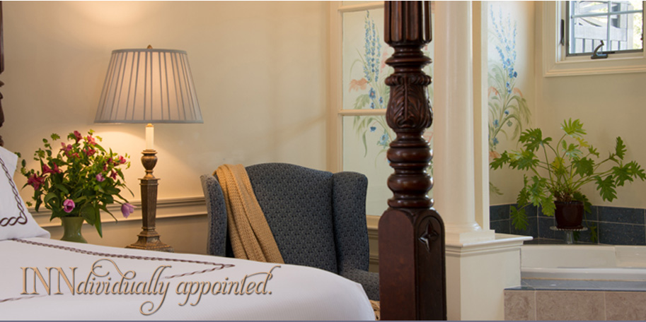 Relax in our Elegant Suites at the Inn